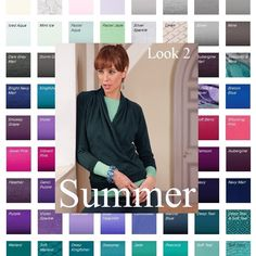 Summer - soft, gentle, sensual shades, a heat haze from an English country garden .  Lovely description of the colors these pretty people can wear!   Sue