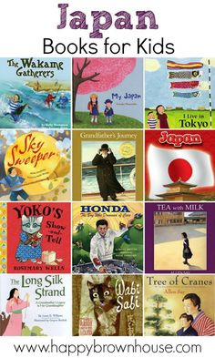 This list of Japan books for kids is a perfect starting point for a Japan unit study. Filled with fiction and nonfiction books about the Japanese culture, this list is perfect to take with you on your next trip to the library.