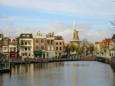 Leiden - The Netherlands.   Beautiful city  spring 2013