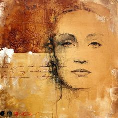 Inspiration Hut - Incredible Oil Paintings by Andre Kohn - Inspiration, Miscellaneous L'art Du Portrait, Portraits, Art Du Collage, Encaustic Art, Photomontage, Face Art, Figurative Art, Art Images, Painting & Drawing