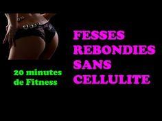 Fitness Routine à la maison : pour des fesses bombées et sans cellulite en temps réel - YouTube