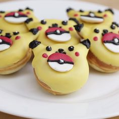 Pikachu is even cuter in donut form!