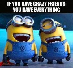 Crazy minion friends!