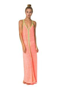 e43c3bbce40 Make a style statement in the gorgeous Inca Sun Dress in Watermelon by  beachwear designer Pitusa.