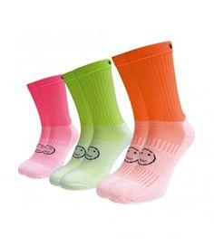 3 pack florescent sports socks Sports Socks, Calf Socks, Funny Socks, Calves, Perfect Fit, The Originals, Fashion, Silly Socks, Moda