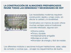 Las necesidades modernas requieren construcción rápida y a bajo costo, sin afectar la calidad y la durabilidad. www.drmprefab.com