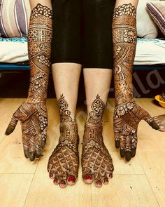 Best Bridal Mehndi Artist in Bangalore