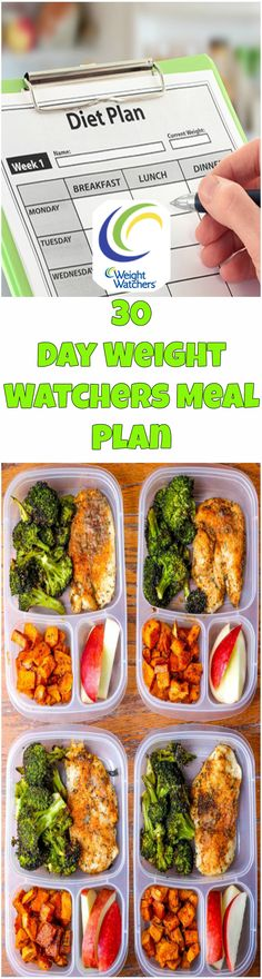 30-Day Weight Watchers Meal Plan