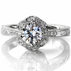 Victoria - Knox Jewelers - Minneapolis Minnesota - Filigree Engagement Rings - Large Image