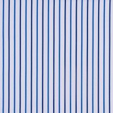 Blue Striped Cotton Shirting