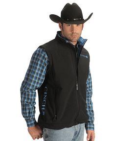 Vest, shirt, hat combo looks good.  At Shepler's