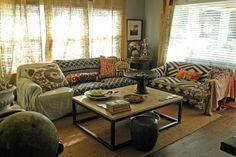 Dallas, TX: Paige Morse eclectic living room