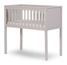 Grey Wooden Baby Crib Newborn Cot Bed Bedroom Boys Girls Bedroom Home Furniture