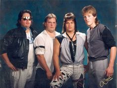 The greatest 80's rock band ever to play Jake's mom's basement.