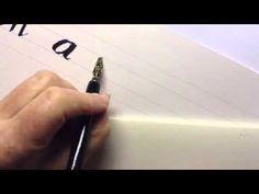 ▶ Calligraphy - Left-handers - YouTube
