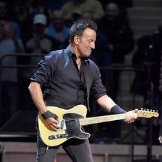 Bruce Springsteen And The E Street Band performs onstage at Madison Square Garden on January 27, 2016 in New York City.