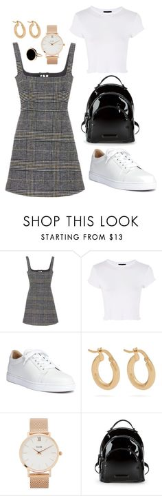 """""""Untitled #2"""" by maja-kristiansson on Polyvore featuring AlexaChung, Topshop, Christian Louboutin, Anissa Kermiche, CLUSE, Kendall + Kylie and Ginette NY"""