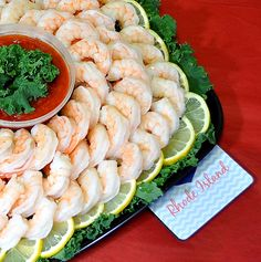 Shrimp Platters! Quality you expect, service you can count on!  Easy online ordering!