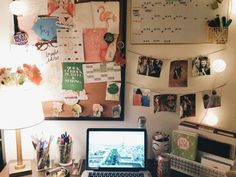 Real estate office and inspiration board college dorm rooms, college apartment decorations, college room College Apartments, College Dorm Rooms, College Desks, College Room Decor, Ucf Dorm, Girl College Dorms, College Dorm Essentials, Small Apartments, College Life
