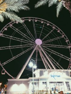 Sky wheel in Panama City beach, FL Visit Florida, Florida Vacation, Florida Travel, Vacation Places, Panama City Beach Florida, Panama City Panama, Famous Places In France, Blizzard Beach, Everglades National Park