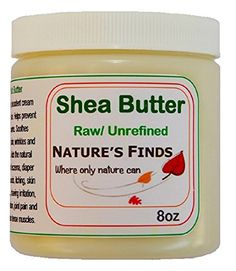 nice Shea Butter. Natural Organic Oil 8oz. Skin Care. Healthy Hair. Body Moisturizer Night Cream. Nourish Dry Skin. Essential for Beauty and Health. Lotion for Smooth Sensitive Skin. For Baby, Hand & Face. Certified. Guaranteed Pure By Nature's Finds