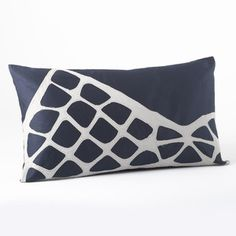 Stacked Stones Pillow Indigo now featured on Fab.
