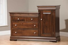 Amish Louis Phillippe Changing Table