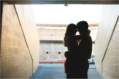 neyland stadium engagement pics - click to view more! Tennessee football, go vols, stadium, football engagement pictures