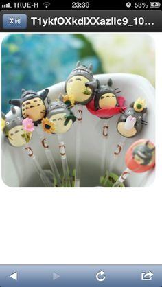 Totoro cake pops!!!