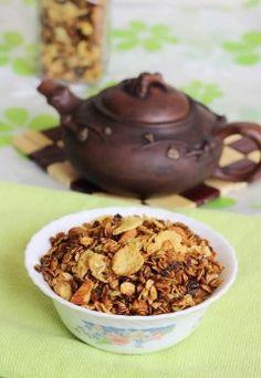 stovetop granola recipe – easy granola recipe using jaggery