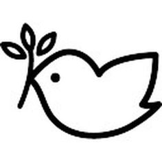 Peace dove free vector icons designed by Freepik Pigeon, Peace Dove, Peace And Love, Religion, Stationery, Arts And Crafts, Clip Art, Free, Silhouette