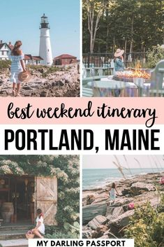 Best Weekend Itinerary Portland Maine. How to Plan a Long Weekend to Portland, Maine. Where to stay, where to eat and what to do in Portland Maine. #portland #maine #newengland | Maine Itinerary | What to do in Portland Maine | Portland weekend | Portland 48 hours | Usa Travel Guide, Travel Usa, Travel Guides, Travel Maine, Travel City, Paris Travel, North America Destinations, Travel Destinations, Weekend In Portland