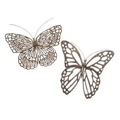Butterfly Wrought iron wall art is the perfect accent for indoors or out  Available at Seasons