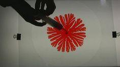 red Hele Shaw pattern