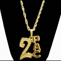 24' 2Pac Necklace New 24' Gold plated Rima Imar  Jewelry Necklaces