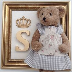 Instagram media babydeluxeenxovais - Porta Maternidade para anunciar a chegada da Princesa Sarah... Um charme!!!