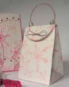Make Paper Purse Boxes for Jewelry - The Beading Gem's Journal