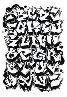 graffiti letter designs - Google Search More