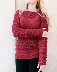 Knit sweater.Burgundy Sweater. Hand knit sweater.Woman sweater. Burgundy sparkle…