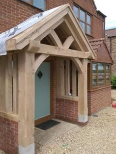 Creative edited entrance porch design check this Porch Canopy, Door Canopy, Porch Swing, Pergola Curtains, House With Porch, House Front, Bungalows, Front Door Porch, Porch Roof