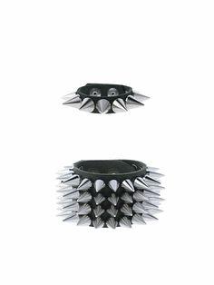cone spikes bracelets.