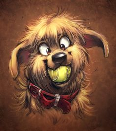 dog drawings | Photos - Animals, Brown, Dogs, Drawings