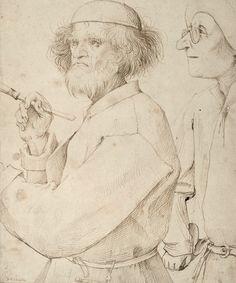 BRUEGEL Pieter Bruegel the elder: Flemish renaissance painter - supposed to be a self portrait Google Art Project, Pieter Brueghel El Viejo, Albertina Wien, Art Blanc, Pieter Bruegel The Elder, Hieronymus Bosch, Renaissance Paintings, Renaissance Art, Famous Artists