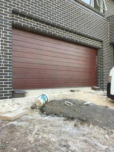 blackbutt, boral terracotta shingle, gutter basalt, window surfmist Brick Design, Block Wall, New Construction, Terracotta, New Homes, Exterior, Building, Outdoor Decor, Bricks