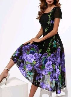 Purple - Latest fashion trends in women's Dresses. Shop online for fashionable ladies' Dresses at Floryday - your favourite high street store.