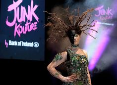 Junk Kouture fashion show final takes place tonight - see the incredible outfits competing for the top prize Creative Design, Finals, Fashion Show, Wonder Woman, The Incredibles, Superhero, Outfits, Inspiration, Clothes