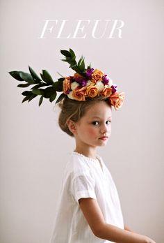 Pretty little flower headpiece by Jessi Butterfield