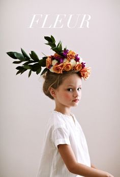 Pretty little flower headpiece by Jessi Butterfield