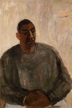 "Janice Nowinski - Portrait of Paul, 36""x24"", oil on canvas, 2009"