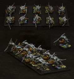 Lizardmen Skinks #whfb #warhammer #fantasy #battle #aos #ageofsigmar #sigmar #gw #gamesworkshop #wellofeternity #miniatures #wargaming #hobby #lizardmen #skinks